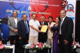 REC FKCCI Bangalore 2015 Award